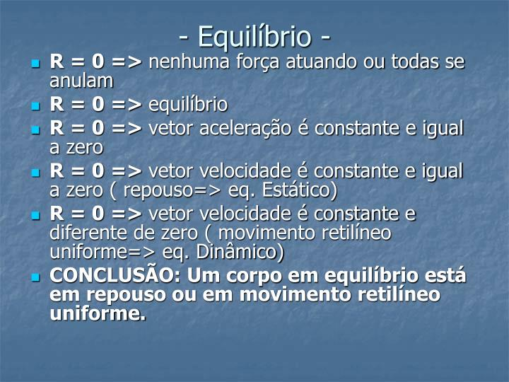 Equil brio