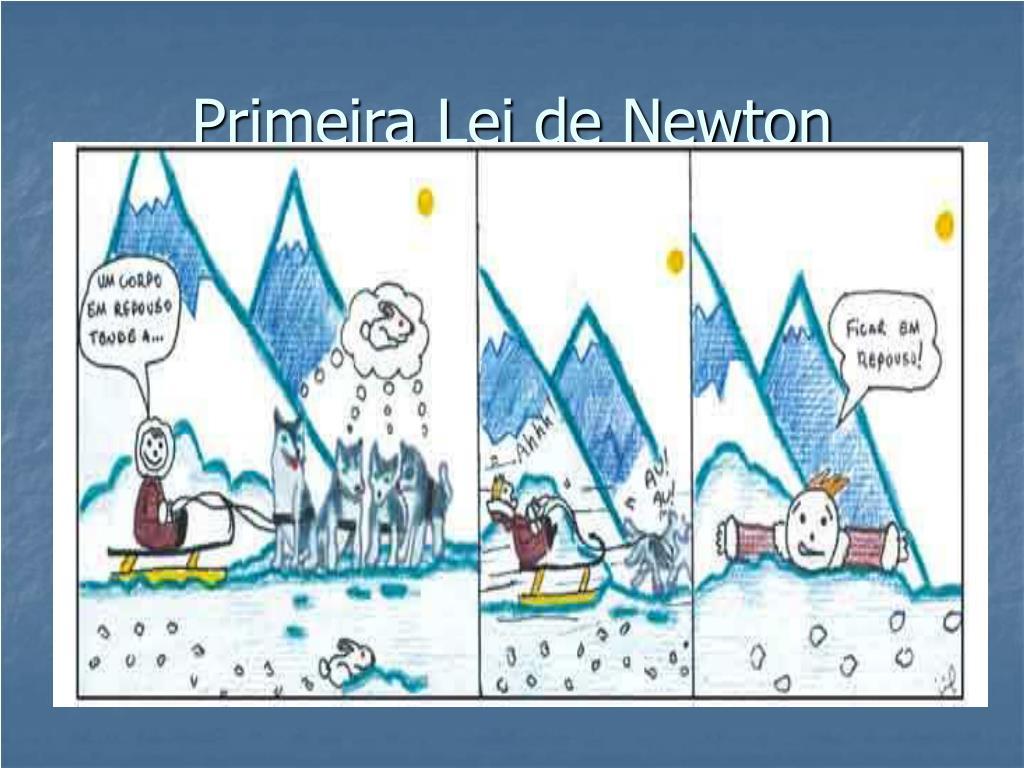 primeira lei de newton l.