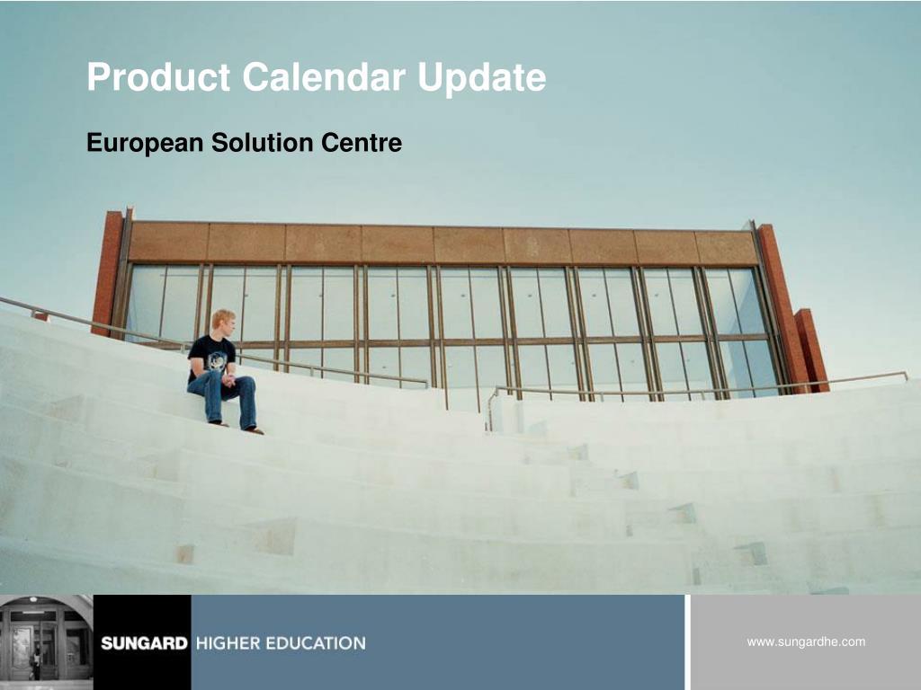 product calendar update l.