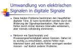 umwandlung von elektrischen signalen in digitale signale21
