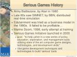 serious games history