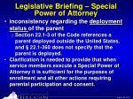 legislative briefing special power of attorney13