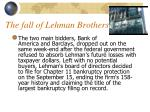the fall of lehman brothers17