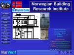norwegian building research institute