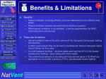 benefits limitations