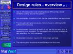 design rules overview 5