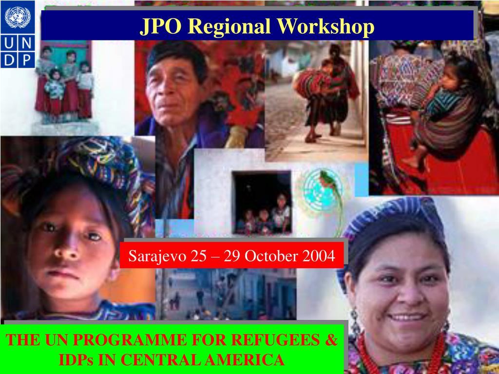 jpo regional workshop l.