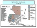 the case of guatemala zonapaz