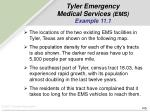 tyler emergency medical services ems example 11 1