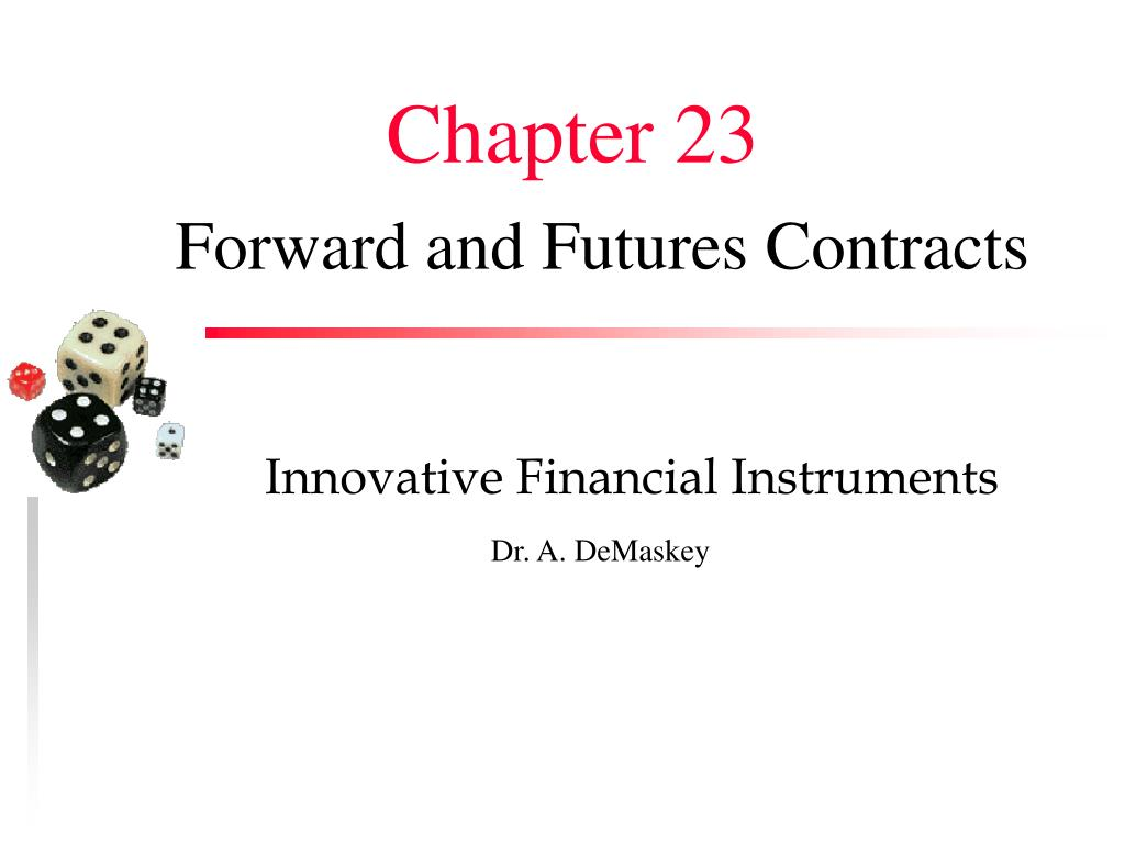 forward and futures contracts l.