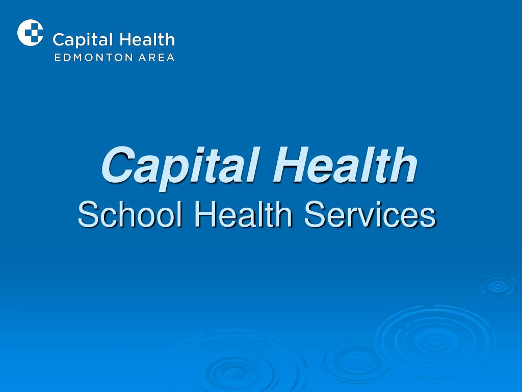 capital health school health services l.