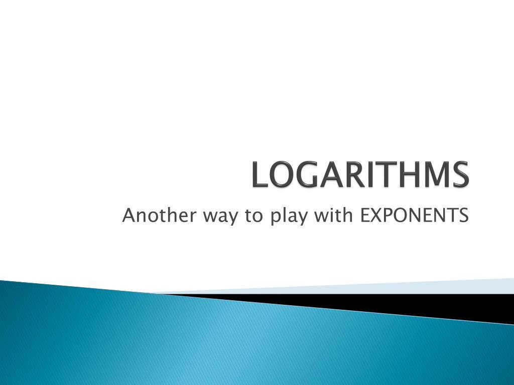logarithms l.