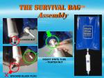 the survival bag assembly
