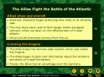 the allies fight the battle of the atlantic