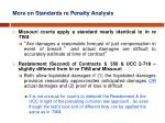 more on standards re penalty analysis