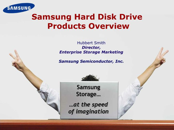 Samsung hard disk drive products overview
