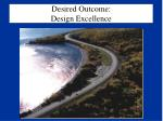 desired outcome design excellence53