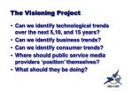 the visioning project
