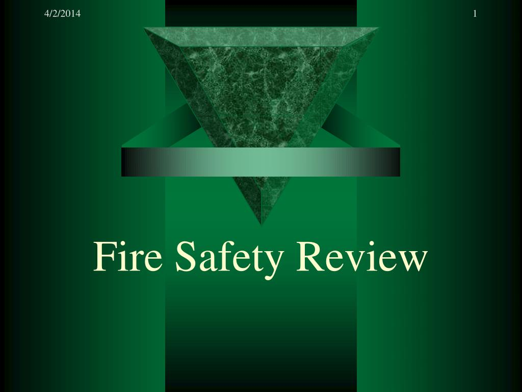 fire safety review l.