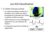 les sca classification14