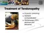 treatment of tendonopathy
