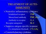 treatment of auto immunity21
