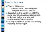 east asia experience