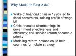 why model in east asia