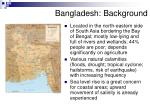 bangladesh background