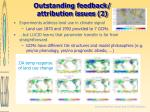 outstanding feedback attribution issues 2