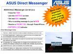asus direct messenger