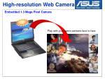 high resolution web camera