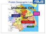 protek geographic location