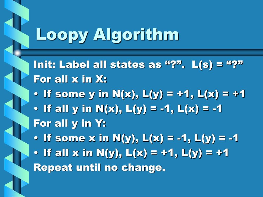 Loopy Algorithm