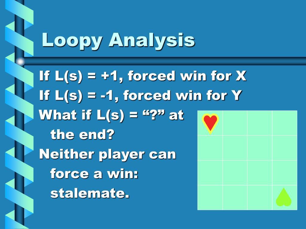Loopy Analysis
