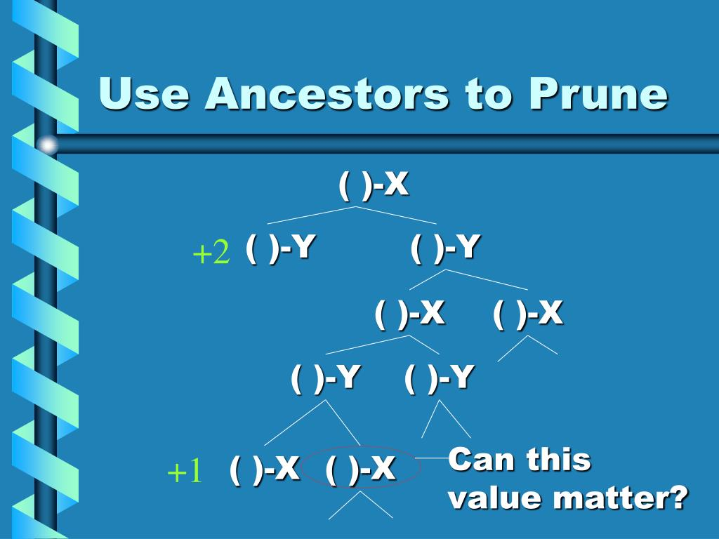 Use Ancestors to Prune
