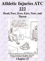 athletic injuries atc 222 head face eyes ears nose and throat chapter 27