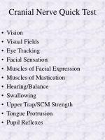 cranial nerve quick test