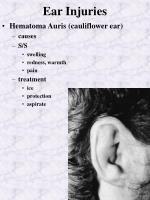 ear injuries