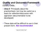 quality and outcomes framework qof data