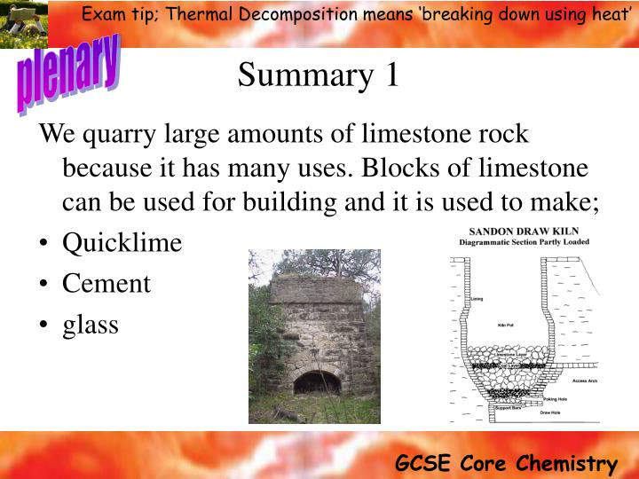 Ppt Limestone Amp Its Uses Powerpoint Presentation Id 706650