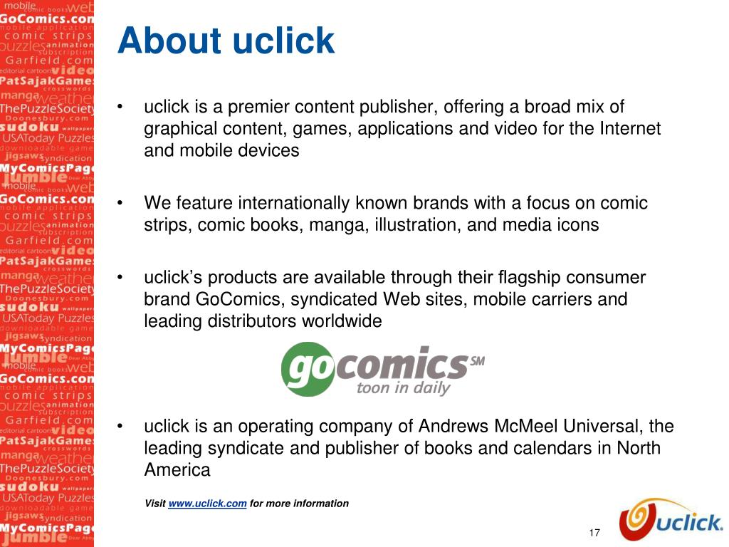 About uclick