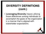 diversity definitions cont5