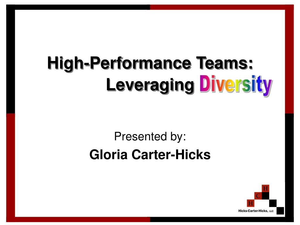 high performance teams leveraging l.