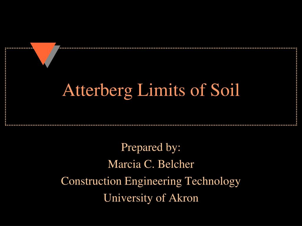 atterberg limits of soil l.