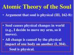 atomic theory of the soul23