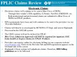fplic claims review