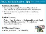 fplic payment cont d