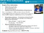 fplic prior authorization cont d5