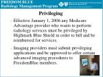 freedom blue radiology management program